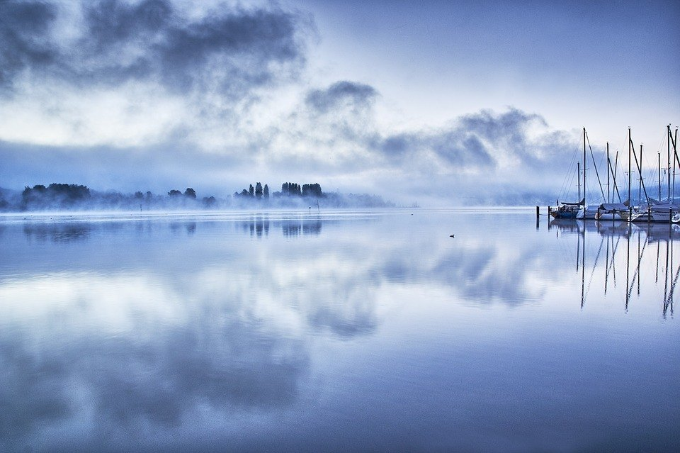 blue-lake-lake-constance-nature