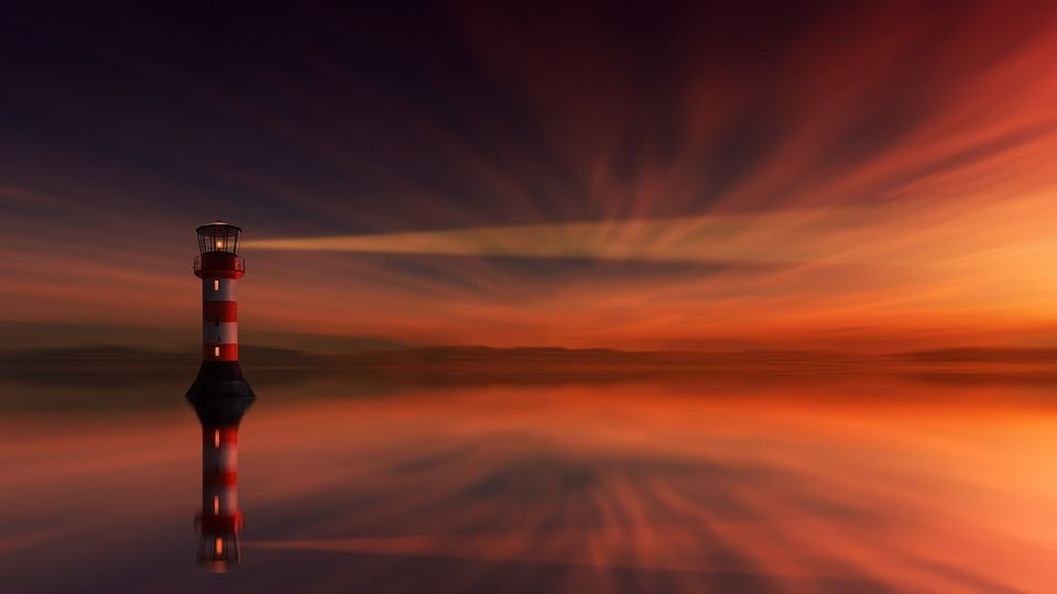 sunset-lighthouse-dawn-dusk-sun